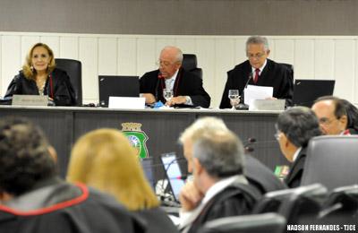 Presidente do TJCE apresenta relatório das ações desenvolvidas pelo Serviço de Precatórios