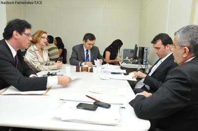 TJCE realiza audiências de conciliação com credores de precatórios do Estado