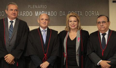 Pleno do Tribunal de Justiça elege nova Direção do Poder Judiciário para biênio 2017/2019