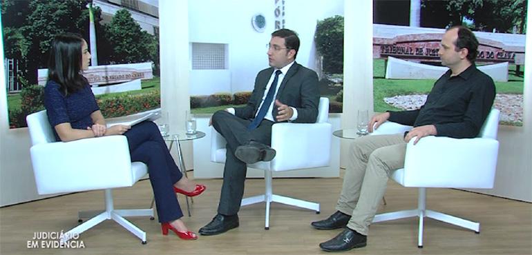 """""""Judiciário em Evidência"""" traz entrevista sobre projetos estratégicos da atual gestão do TJCE"""