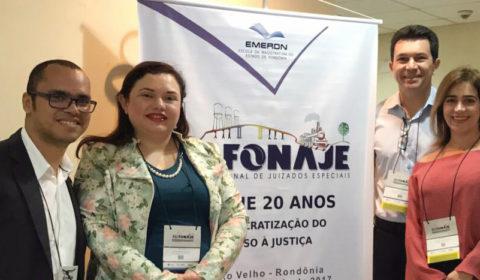 Magistrados cearenses participam do 41º Fórum Nacional de Juizados Especiais em Rondônia