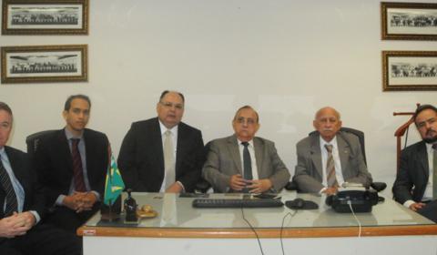 Corregedor-geral da Justiça continua ciclo de inspeções e visitas às unidades judiciárias de Fortaleza