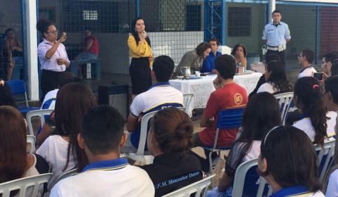 Juíza Jacinta Inamar destaca importância do Masp para alunos de escola estadual