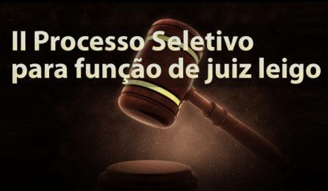 Inscrições para a função de juiz leigo seguem até 30 de junho