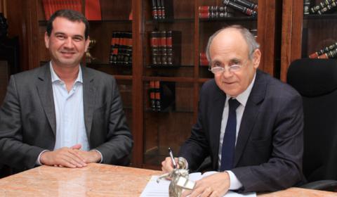 TJCE e Estado firmam termo de cessão de uso de imóvel para instalação do Fórum de Iracema