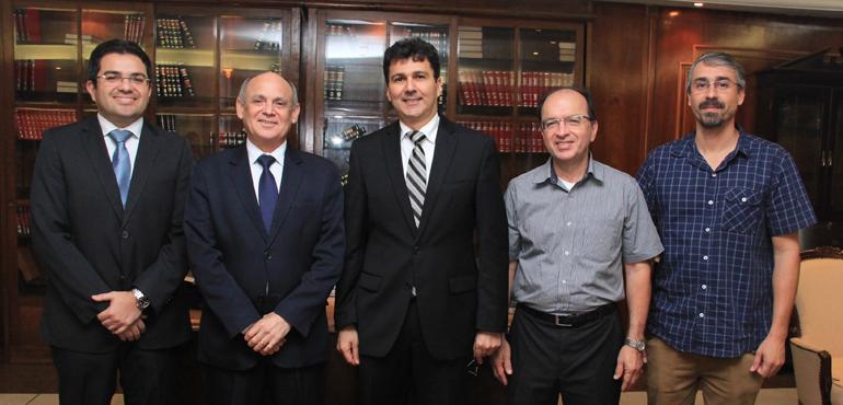 Assessoria de Precatórios do TJCE recebe visita técnica do Tribunal de Justiça de Pernambuco
