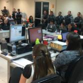 Acusados de matar três policiais militares sãoouvidos durante audiência na Comarca de Quixadá