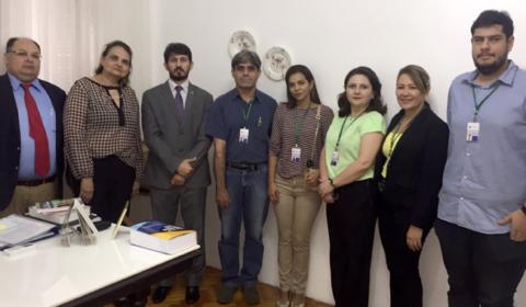 Diretor do Fórum Clóvis Beviláqua inicia  ciclo de inspeções em cartórios de Fortaleza