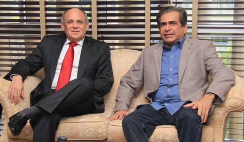 Presidentes do TJCE e da Assembleia tratam sobre o  projeto da nova Organização Judiciária
