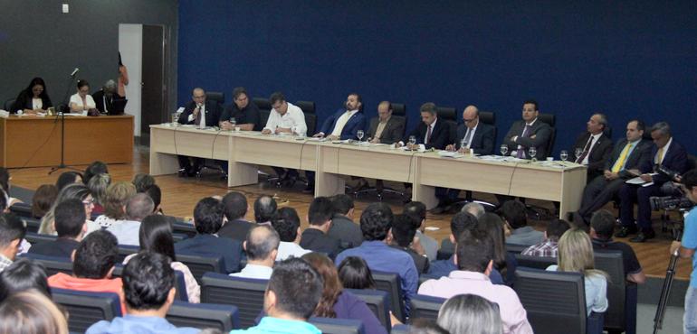 Audiência pública debate projeto de lei do TJCE que trata da nova Organização Judiciária do Estado