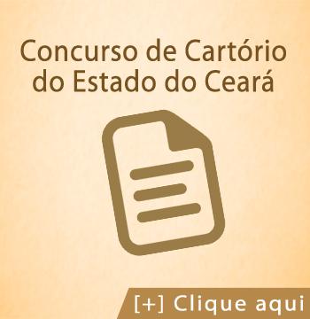 Concurso de Cartórios do Estado do Ceará
