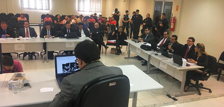 1ª Vara de Quixadá realiza segunda audiência do caso que investiga mortes de policiais militares