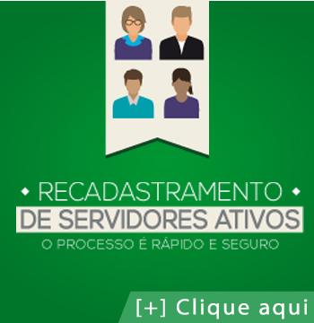 Recadastramento de servidores ativos