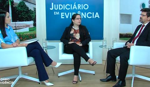 """Semana da Conciliação é tema de entrevista no """"Judiciário em Evidência"""" desta semana"""