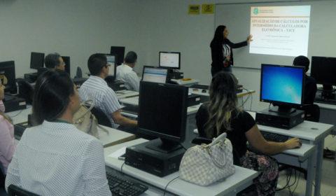 Fórum encerra cursos sobre atualização de cálculos por meio da Calculadora Eletrônica do TJCE