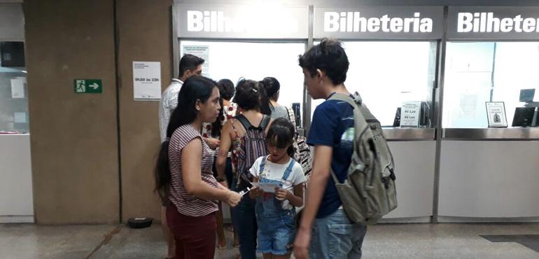Juizado da Mulher conscientiza população sobre abuso sexual em Estação de Metrô do Benfica
