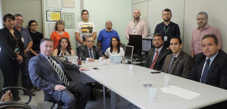 Corregedoria-Geral da Justiça realiza inspeção no 12º Juizado Especial Cível e Criminal de Fortaleza