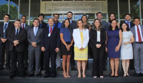 Representantes de Tribunais estaduais participam de Encontro Regional no TJCE