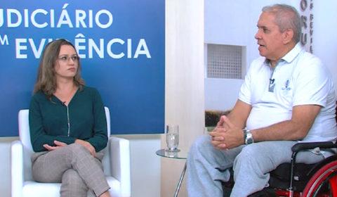 """Ações do TJCE voltadas à acessibilidade são tema de entrevista no """"Judiciário em Evidência"""""""