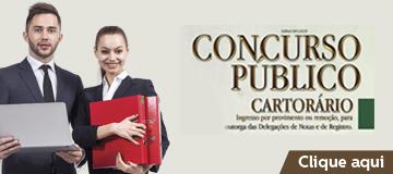 CONCURSO PÚBLICO CARTORÁRIO