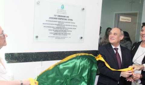 Inauguração do 13º Juizado Especial na Fametro  beneficia população e estudantes de Direito