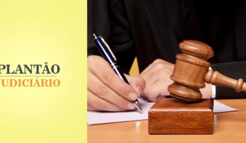 Tribunal registra quatro processos durante plantão