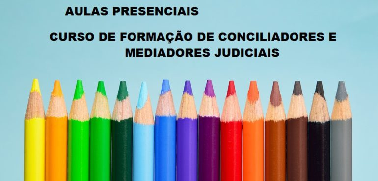 Cursos de Formação de Conciliadores e Mediadores 2017-2018
