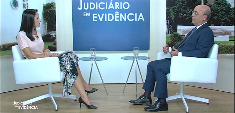 """Implantação da Secretaria Judiciária Regional do Crajubar é destaque no """"Judiciário em Evidência"""""""