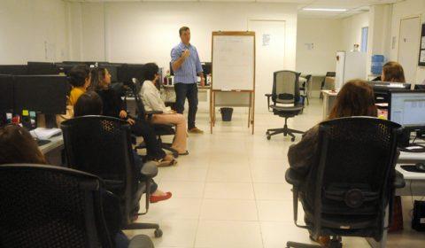 Servidores do Fórum aprendem técnicas para aumentar a concentração e o bem-estar no trabalho