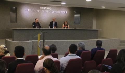 Magistrados participam do Curso de Direito à Saúde no Tribunal de Justiça