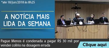MAIS LIDA – Pague Menos é condenada a pagar R$ 30 mil por vender colírio na dosagem errada