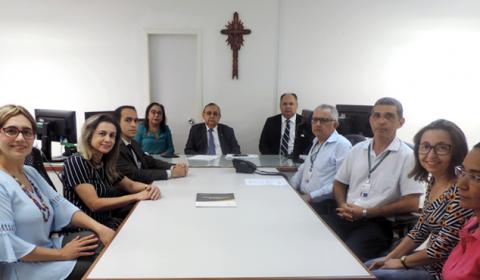 Corregedoria-Geral da Justiça realiza inspeção na 22ª Vara Cível de Fortaleza