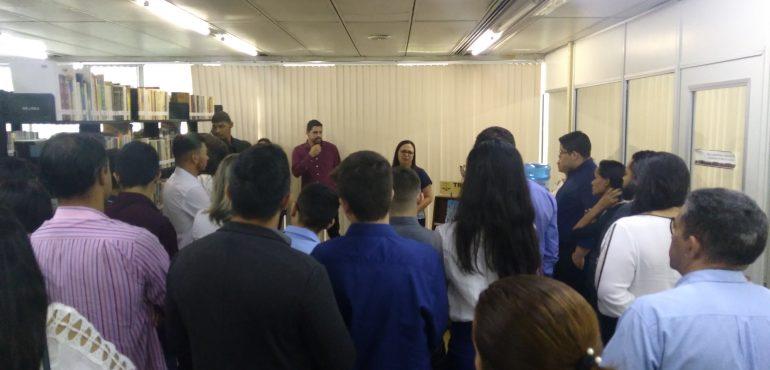 Visita guiada – Faculdade Maurício de Nassau – 29/05/2018