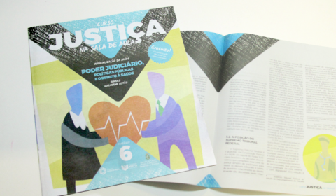 Sétimo fascículo do curso Justiça na Sala de Aula circula nesta quinta-feira