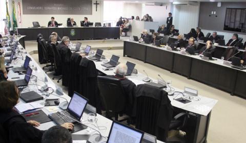 Pleno do TJCE instaura no mês de junho cinco processos administrativos contra magistrados