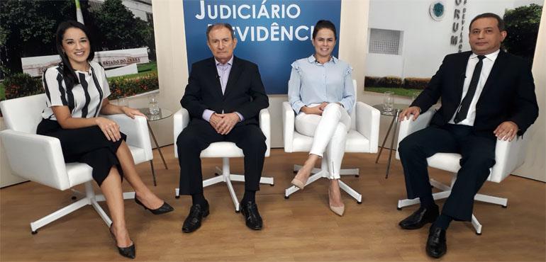 """Projetos de ressocialização de apenados são destaque em entrevista no """"Judiciário em Evidência"""""""
