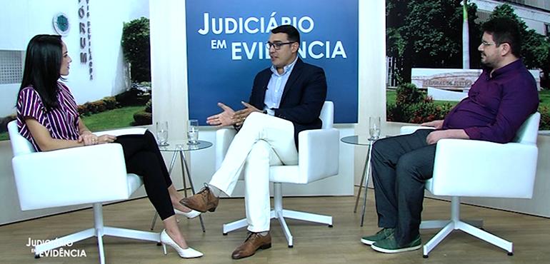 """Teletrabalho é tema da entrevista do """"Judiciário em Evidência"""" desta semana"""