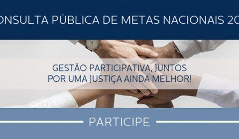 Pesquisa do TJCE para construção de metas nacionais do Judiciário tem mais de 300 participações