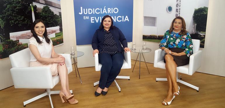 As entrevistadas são as juízas Rosa Mendonça e Teresa Germana