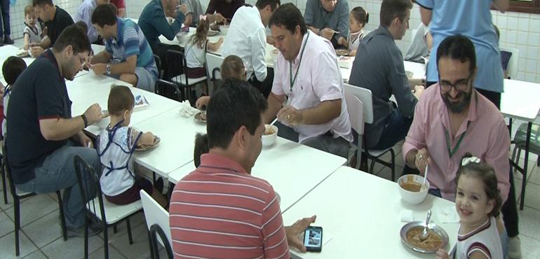 Creche do Poder Judiciário promove  jantar para pais e filhos