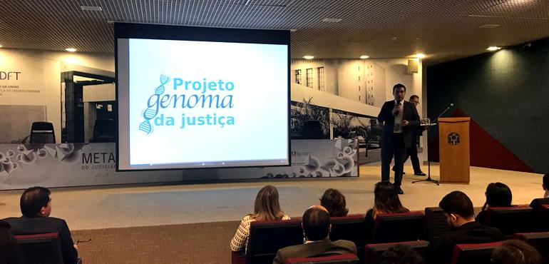 """TJCE apresenta projeto """"Genoma da Justiça"""" no V Encontro Nacional da Justiça Estadual"""