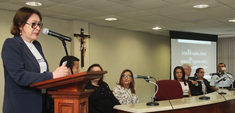 Magistrados, promotores e defensores participam da abertura da 11ª Semana pela Paz em Casa