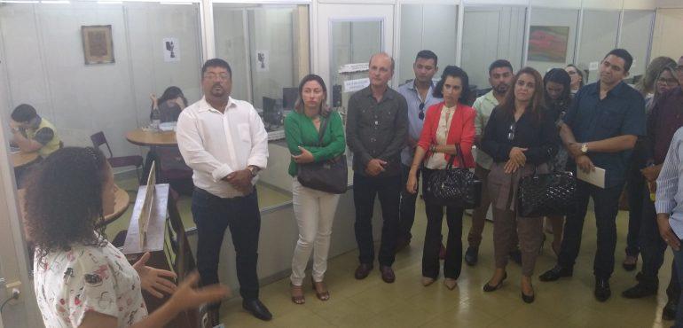 Visita guiada – Faculdade Terra Nordeste – FATENE – 22/10/2018