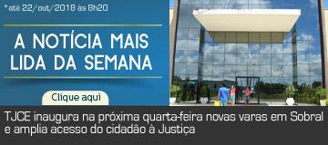 MAIS LIDA – TJCE inaugura na próxima quarta-feira novas varas em Sobral e amplia acesso do cidadão à Justiça