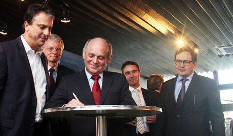 Presidente do TJCE participa de solenidade de assinatura do convênio entre Ceará e Holanda