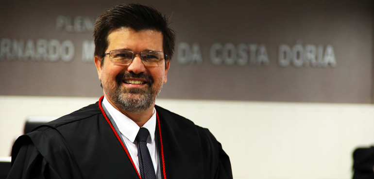 Juiz Sérgio Parente é escolhido novo desembargador do Tribunal de Justiça