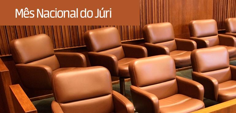 Juízes realizam 319 sessões de julgamento  durante o III Mês Nacional do Júri