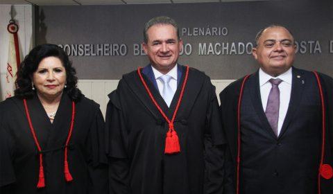 Posse do desembargador Washington Araújo como presidente do TJCE no biênio 2019/2021