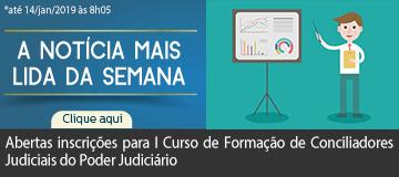 MAIS LIDA – Abertas inscrições para I Curso de Formação de Conciliadores Judiciais do Poder Judiciário