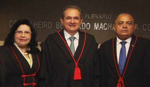 Posse dos novos dirigentes do TJCE –  Coletiva de Imprensa
